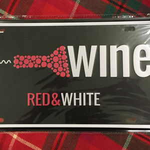 Other - Wine Metal Wall Sign New and Sealed